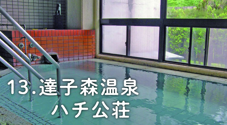 13.達子森温泉 ハチ公荘